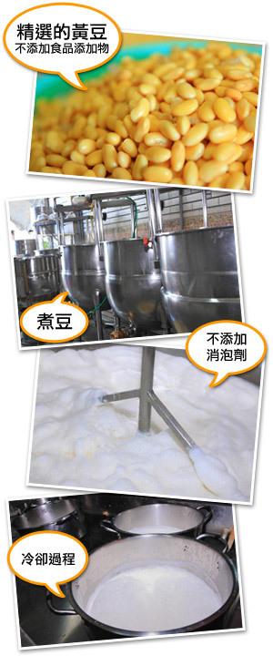 楊記泉水豆漿堅持品質的製程